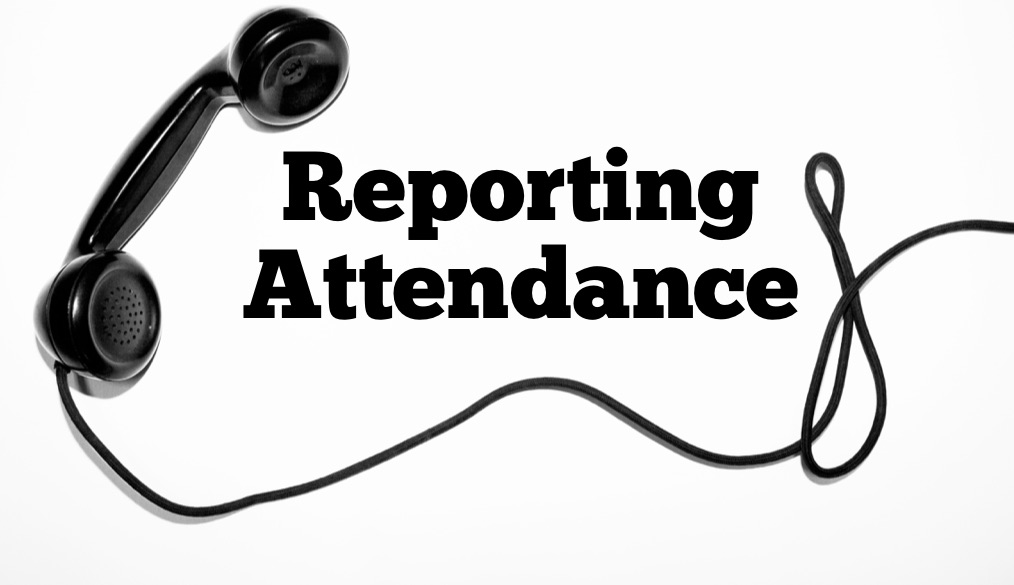 Reporting Attendance