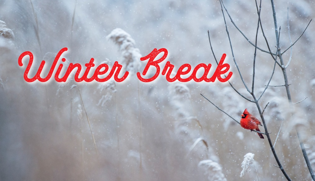 Winter Break is December 24- January 4