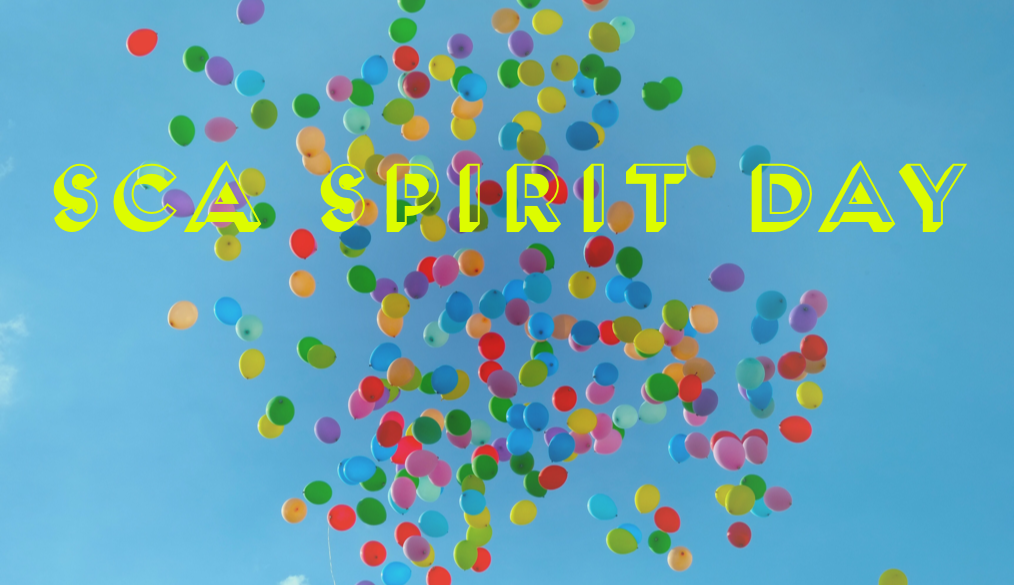SCA Spirit Day on Friday, March 29