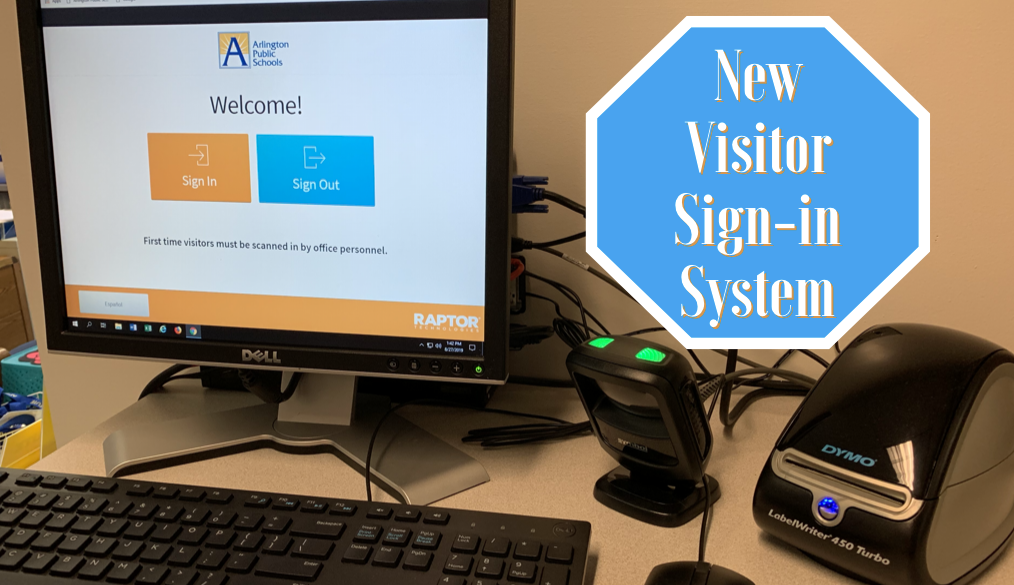 New Visitor Sign-in System