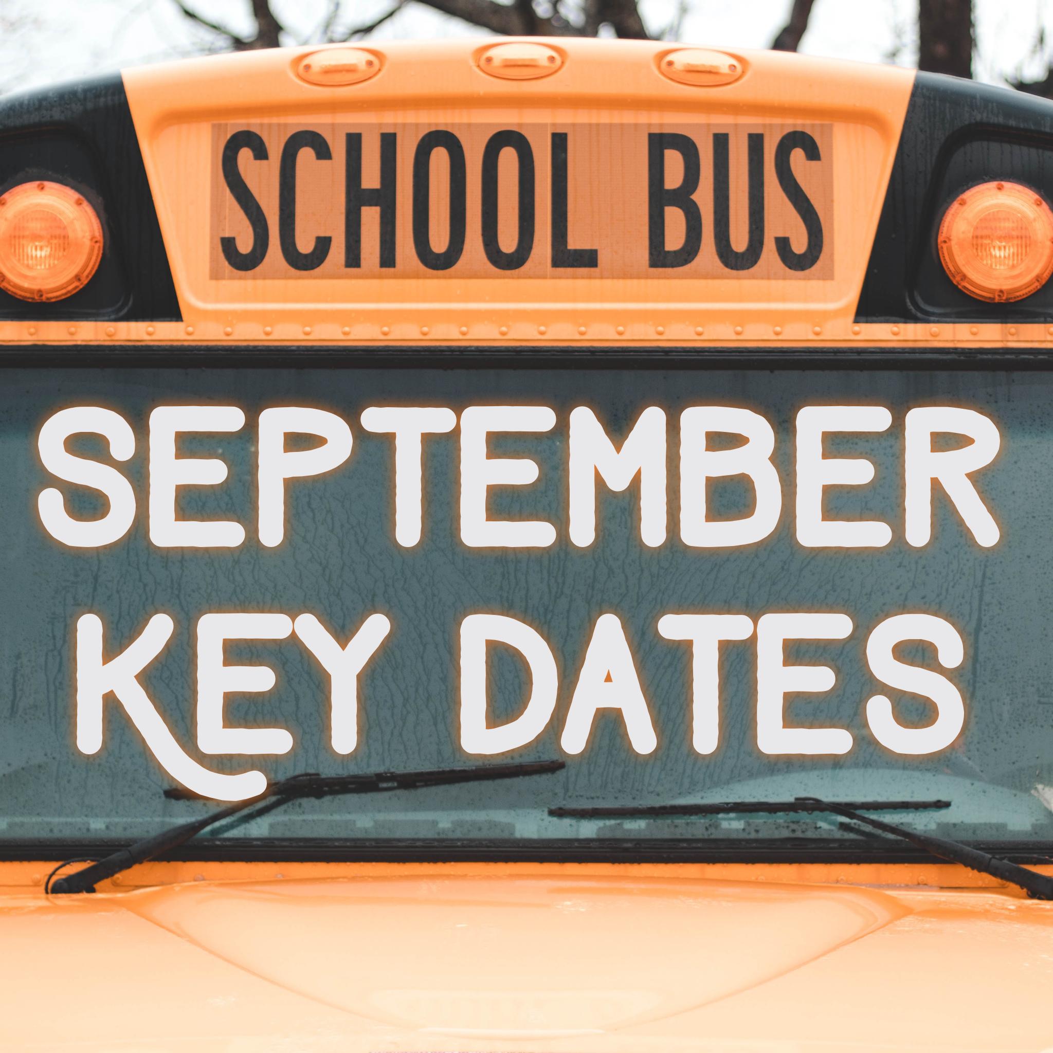 September Key Dates - Arlington Traditional