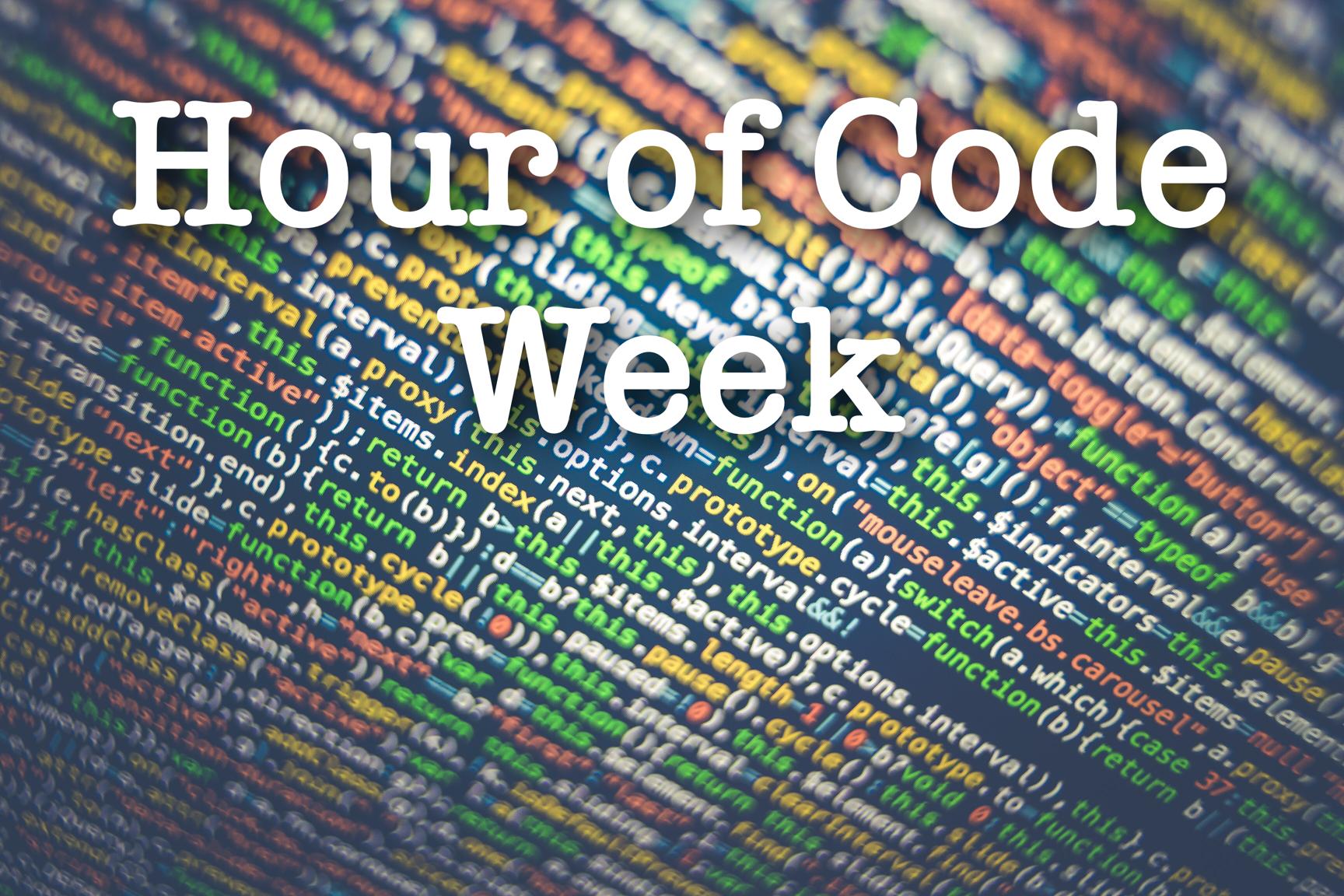 December 9-13 is Hour of Code Week at ATS