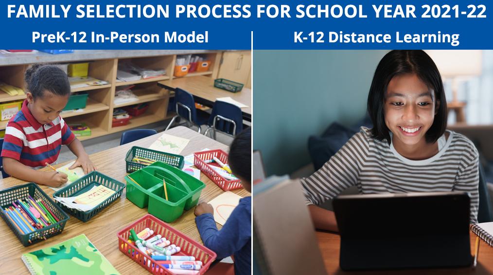 School Year 2021-22 Instructional Model Selection